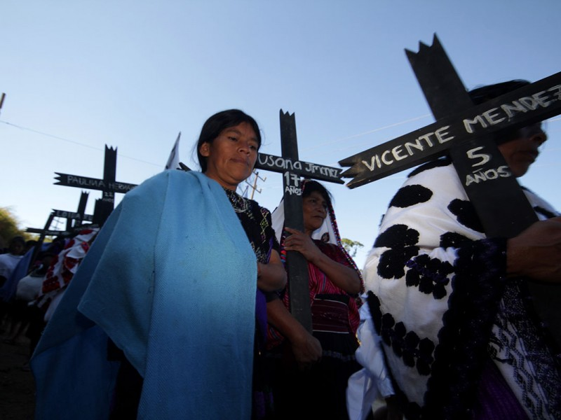 Las Abejas piden juicio a responsables de matanza en Acteal