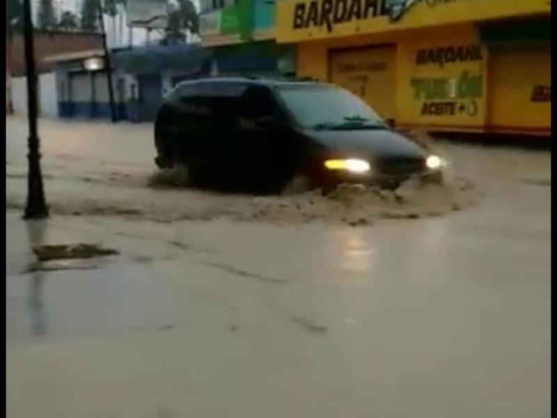 Las lluvias han ocasionado inundaciones en algunas zonas de Zacatecas