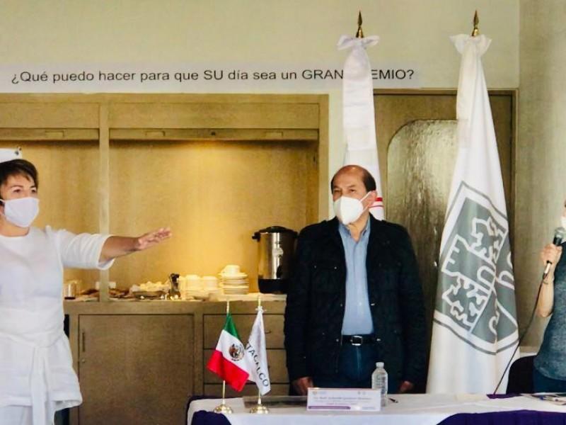 Laura Beristain toma protesta como presidenta de la AALMAC