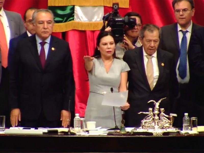 Laura Rojas, nueva presidenta en Cámara de Diputados