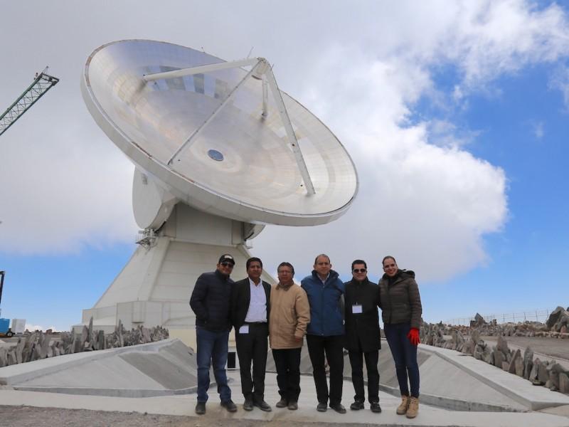 Legisladores visitaron observatorios de rayos gamma