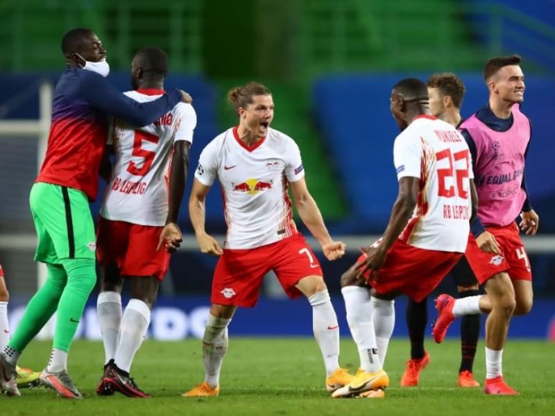 Leipzig elimina al Atlético de Héctor Herrera en Champions