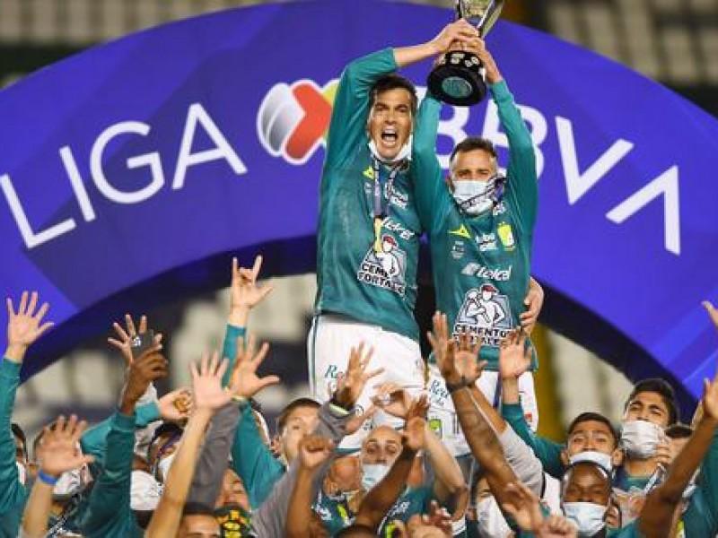 León campeón del fútbol mexicano