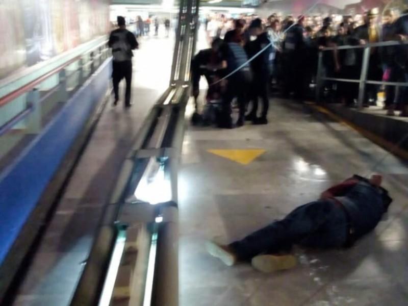 Lesionados en Metro Garibaldi no requirieron hospitalización