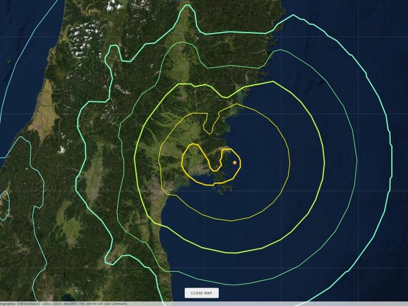Levantan alerta de tsunami tras terremoto en Japón
