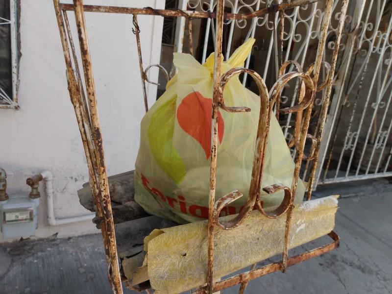 Ley de Durango no sanciona uso de bolsas