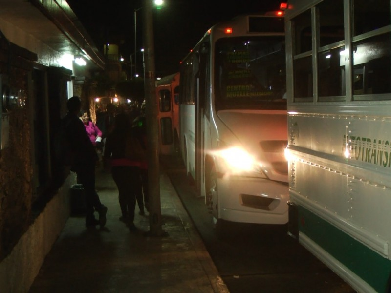 Ley de Movilidad debe atender el transporte nocturno
