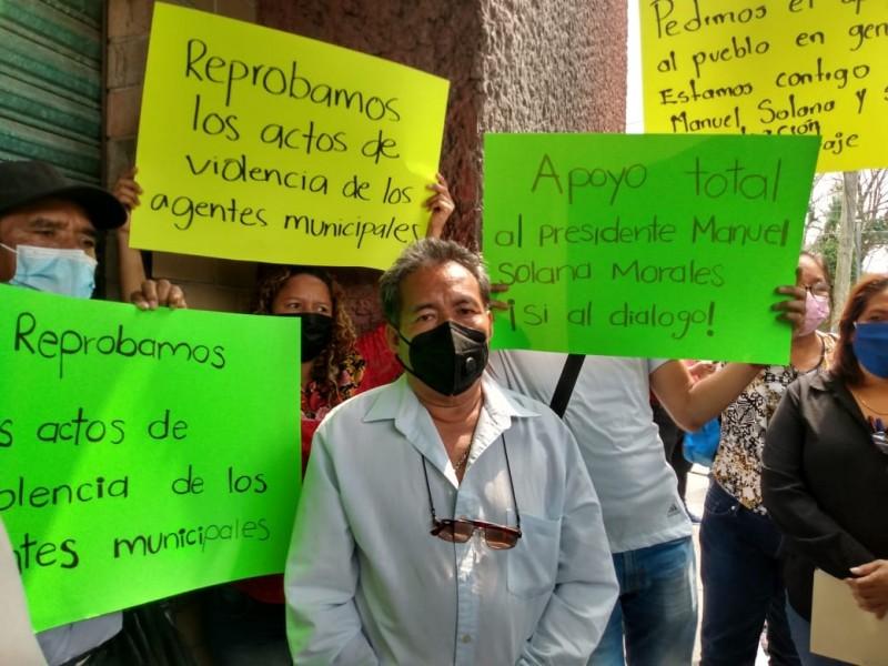 Liberan a alcalde tras varias horas retenido en Matías Romero