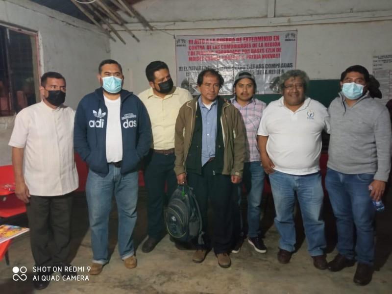 Liberan a defensores de Derechos Humanos tras 48 hrs retenidos
