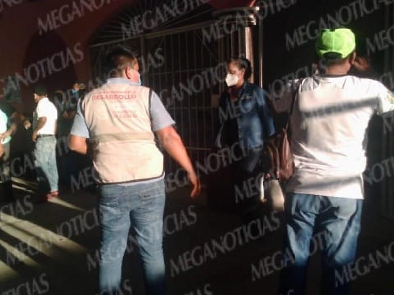 Liberan a funcionarios retenidos en Santa María Huamelula