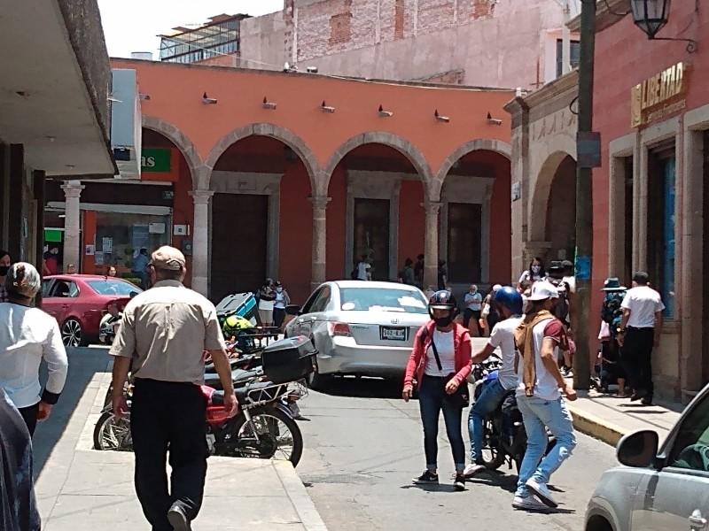 Liberan accesos a plaza principal de La Piedad
