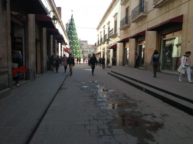 Libre de ambulantes centro Histórico de Morelia