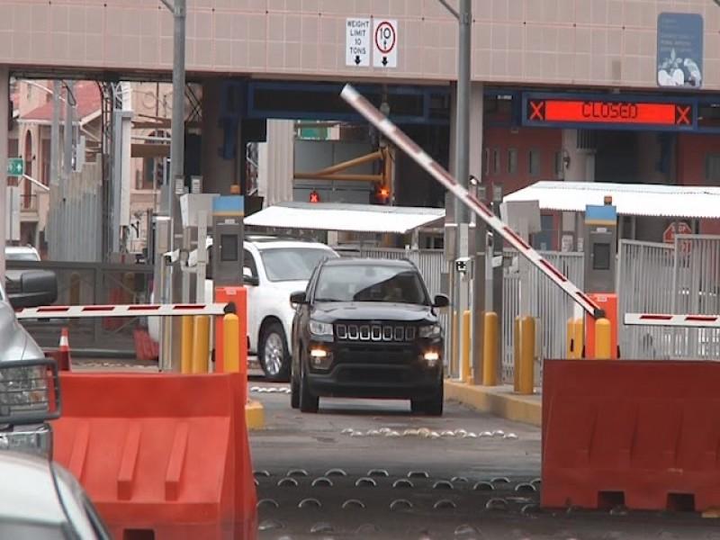 Libre tránsito hacia México por puertas internacionales de Nogales