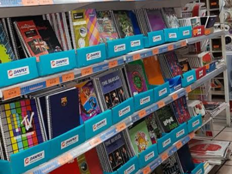 Librerías y papelerías en números rojos