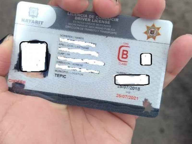 Licencias de conducir pueden ser suspendidas o canceladas