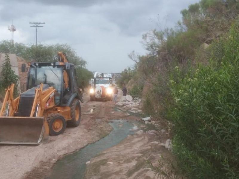 Limpian alcantarillado ubicado en arroyos de Nogales