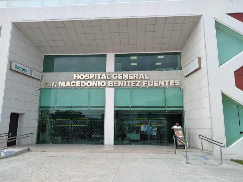 Limpieza y seguridad del hospital MBF-Juchitán se realiza con tequio