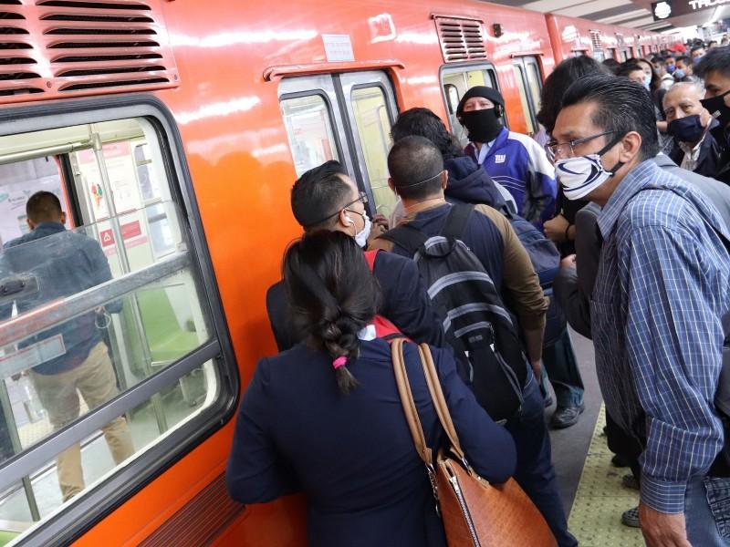Línea 1 del Metro reanuda operaciones con 16 trenes