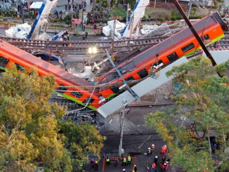 Línea 12-Metro: errores graves de construcción, origen del desplome