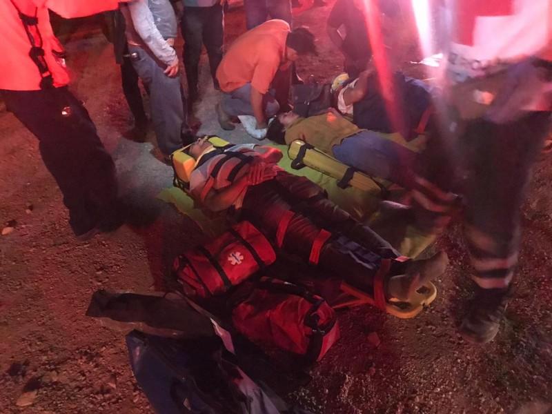 Lista de heridos en accidente en Chiapas