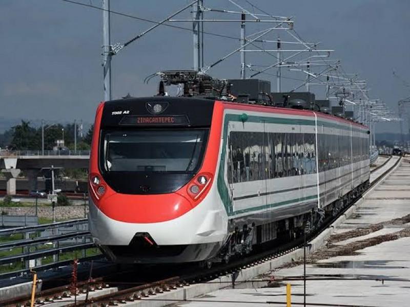 Lista SCT para reactivar Tren Interurbano México-Toluca