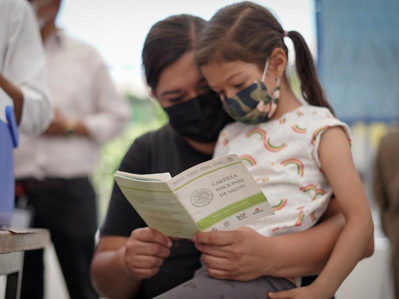 Lista vacunas para niños en Jalisco