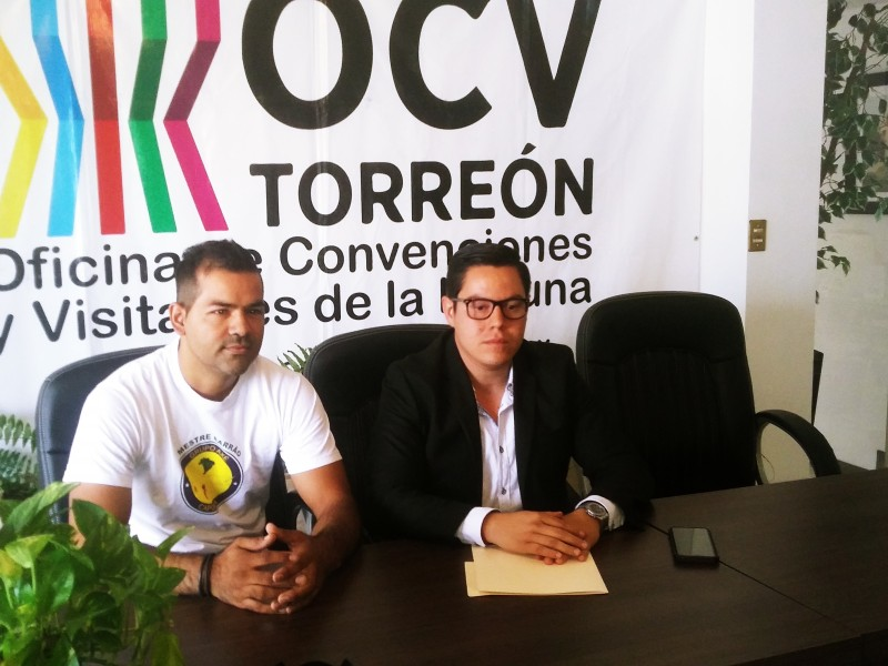 Listo congreso de Capoeira en Torreón