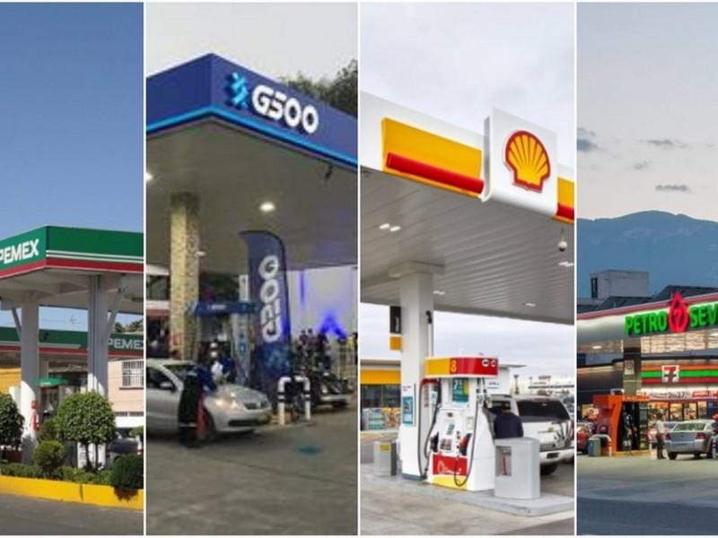 Litros de gasolina a 13 pesos promedio en el país