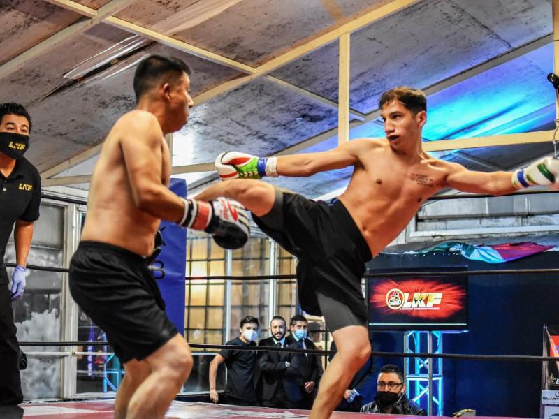 LKF Deslumbró con su nivel de KickBoxing en Puebla