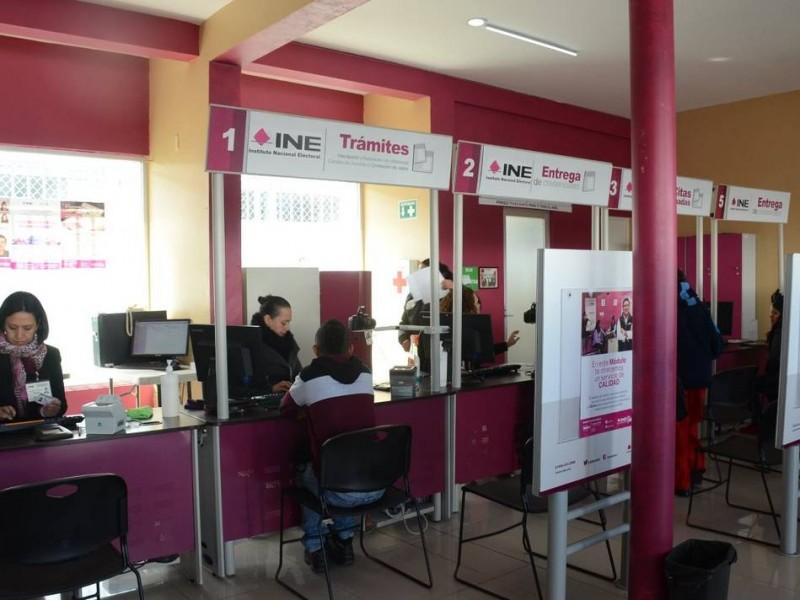 Llama INE a renovar credenciales con terminación 18