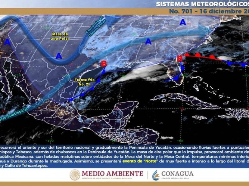 Llaman a extremar precauciones por frío intenso en Sonora