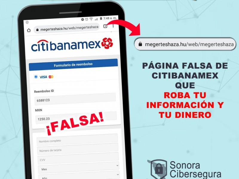 Mensajes bancarios, foco de fraude cibernéticos