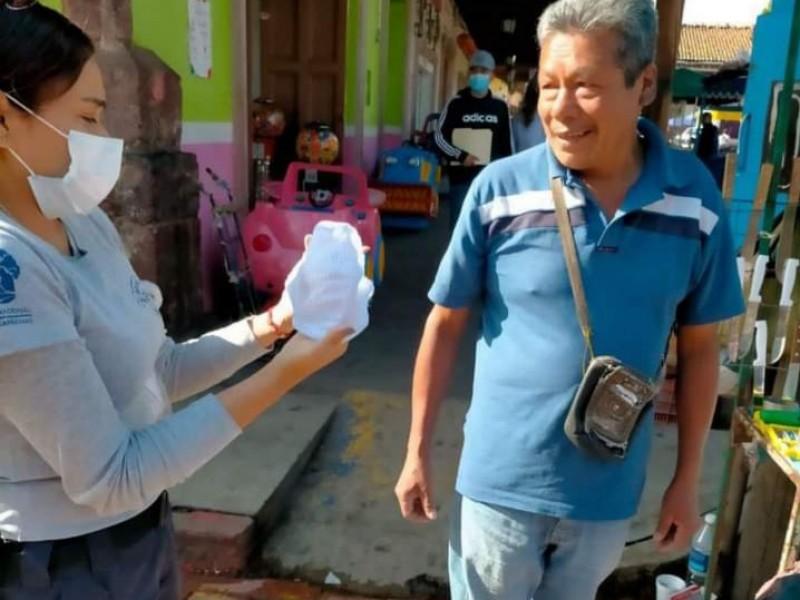 Llaman a tangancicuarenses a seguir con las medidas sanitarias anticovid