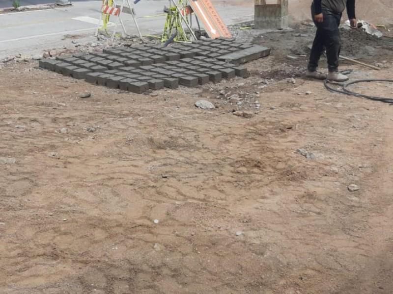 Llaman a tener precaución por obra de pavimentación en Encinos
