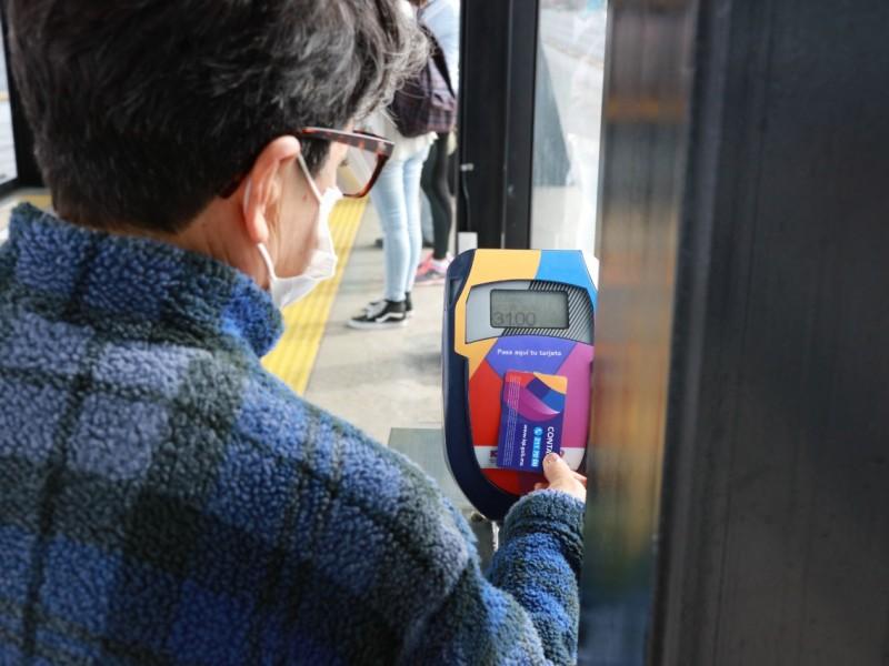 Llaman a utiliza tarjeta de prepago en el transporte público