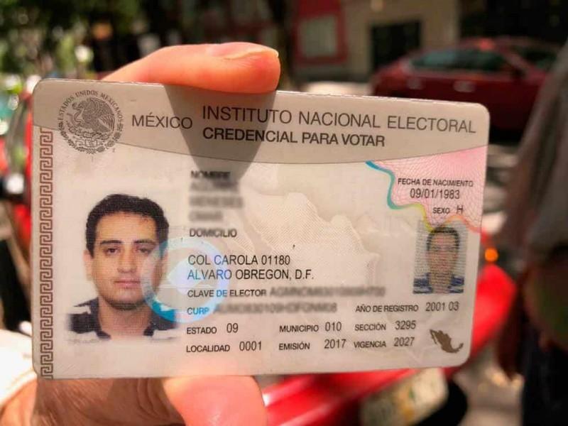 Llaman el INE a solicitar la credencial de elector