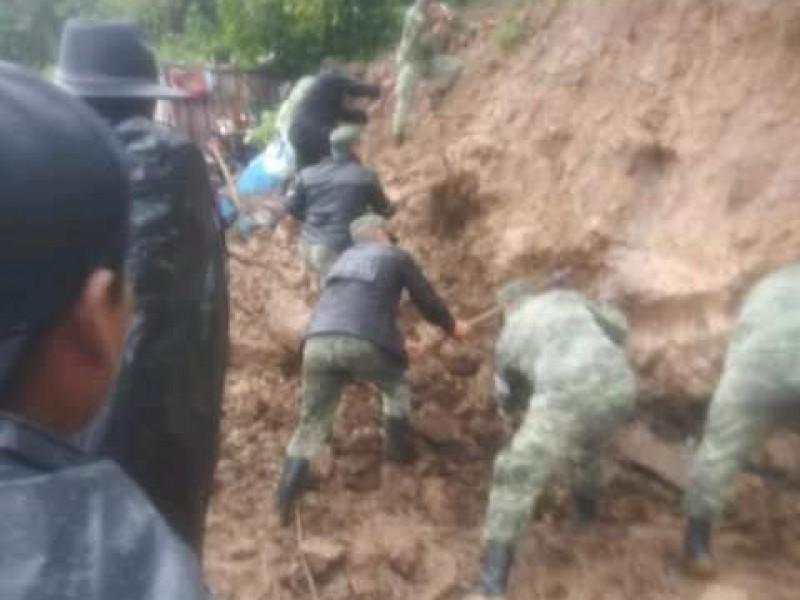 Llega a 20 el número de víctimas mortales por lluvias en Chiapas