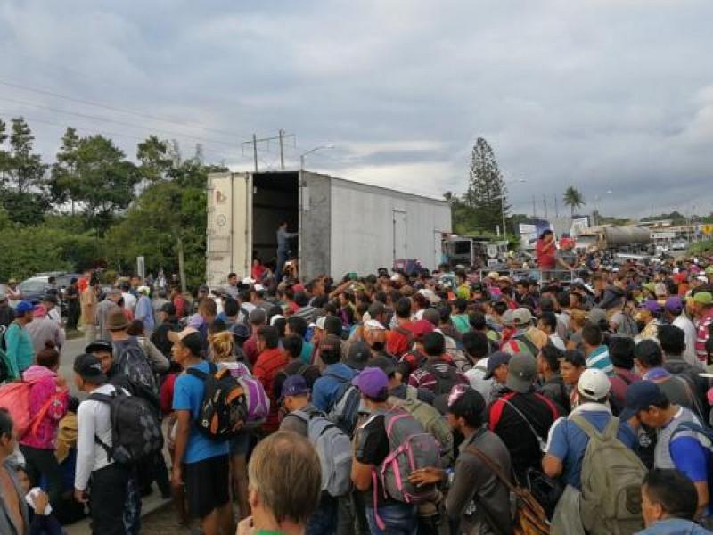 Llega a CDMX la segunda Caravana Migrante