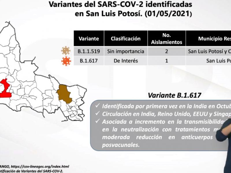Llega a México variante de coronavirus de la India