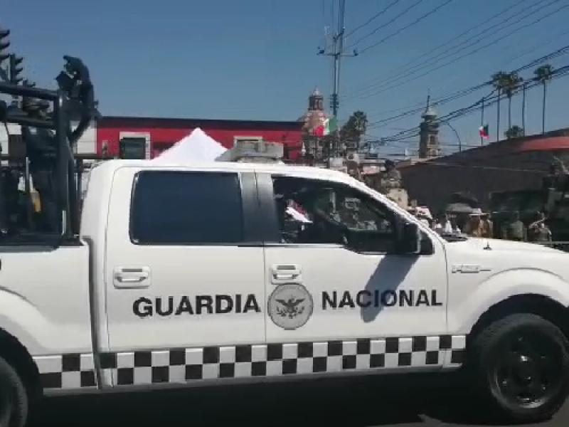 Llega a Querétaro la guardia nacional; FDS
