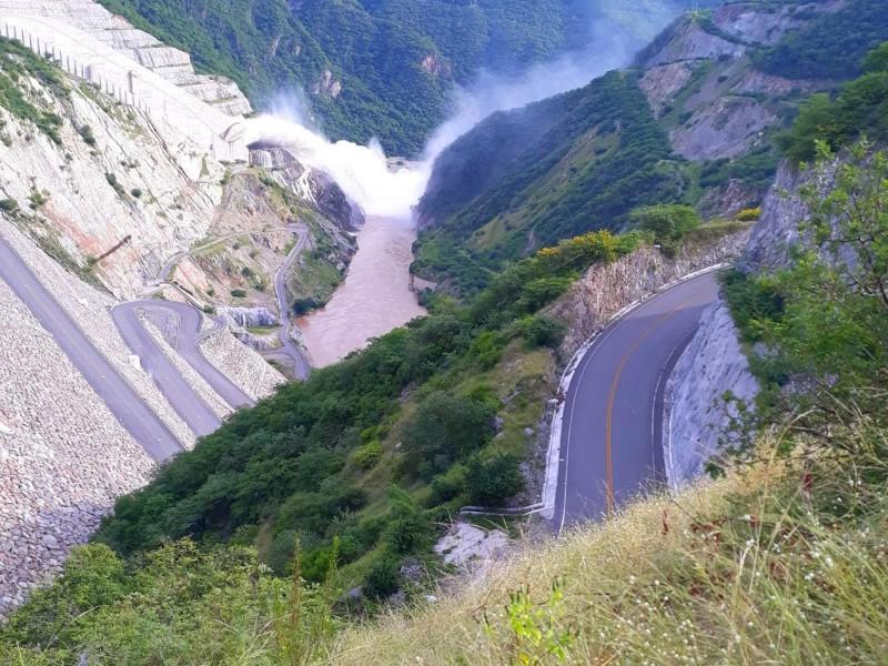 Llega al 100% de capacidad presa La Yesca