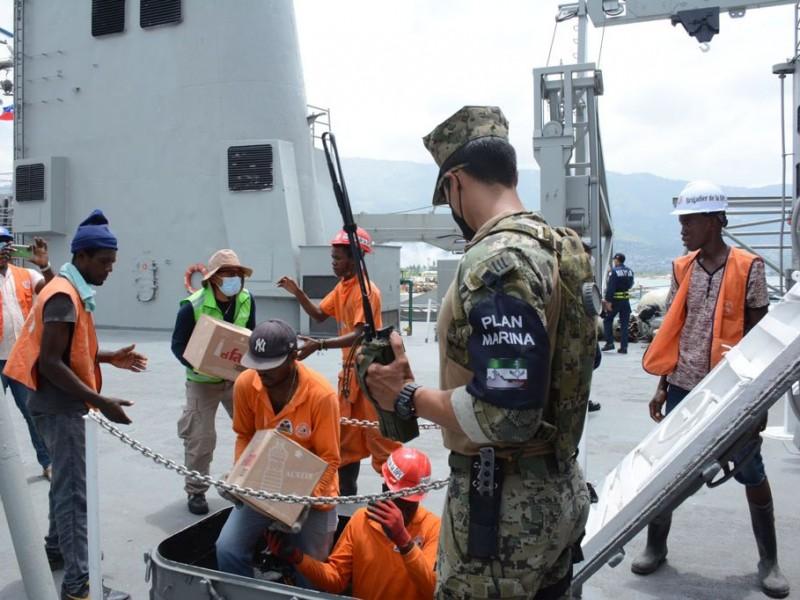 Llega ayuda mexicana al pueblo de Haitì