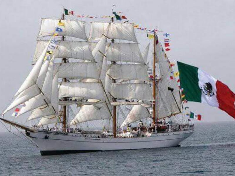 Llega buque escuela a Chiapas