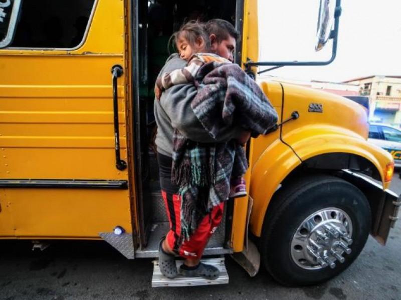 Llega Caravana Migrante a Mexicali