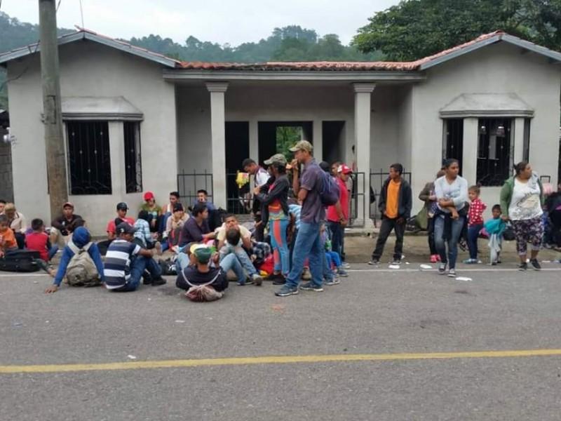 Llega caravana Migrantes a Guatemala