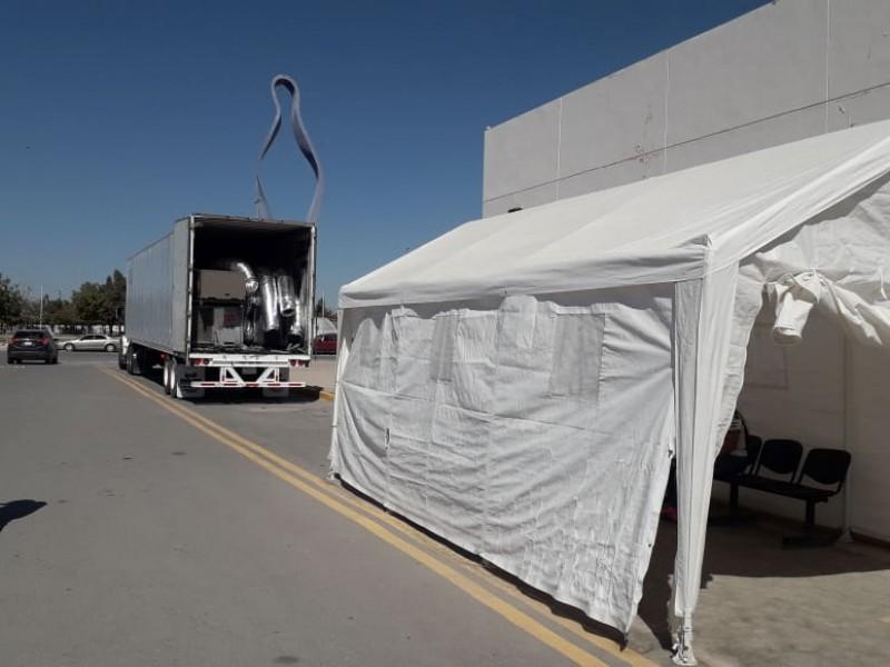 Llega Hospital Móvil a Torreón para atender pacientes Covid