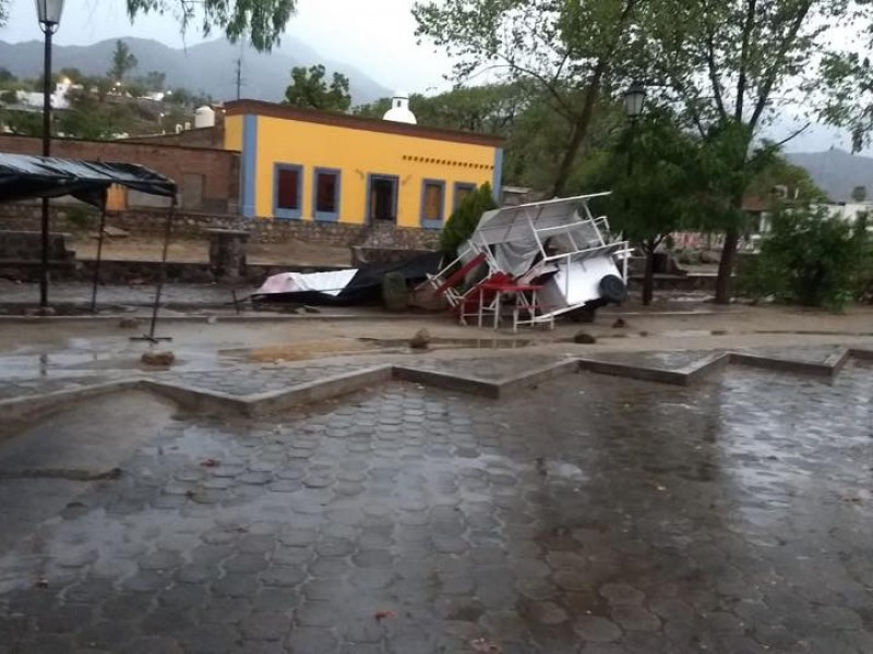 Llega la primera lluvia al Mayo