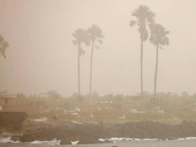 Llega nube de polvo del Sahara a México