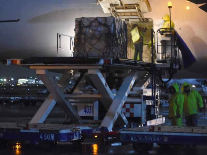Llega nuevo cargamento de Pfizer con 643,500 dosis