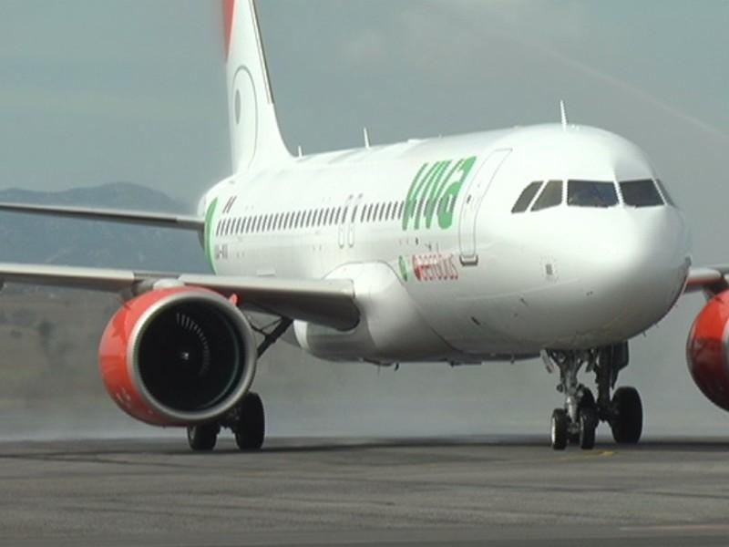 Llega primer vuelo de Viva Aerobus a Zacatecas